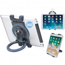 BUBM Stand Holder Tablet with Hand Holder - JY-036 - Black
