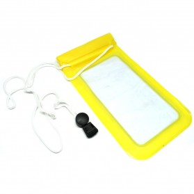 Waterproof Bag for Smartphone 6 Inch - Yellow
