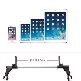 SeenDa Lazypod Flexible Foldable Tablet PC Smartphone Stand - 201 - Black - 3