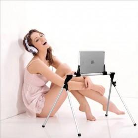 SeenDa Lazypod Flexible Foldable Tablet PC Smartphone Stand - 201 - Black - 4
