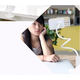 TaffSTUDIO Lazypod Arm Universal Tablet PC Holder dengan Klip 360 Derajat - A-138 - Black - 15