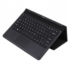 Eksternal Keyboard Docking Leather Case for Chuwi Vi10 Plus 10.8 Inch - Black