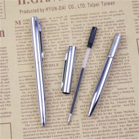 Pena Ballpoint Metal - Silver - 4