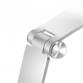 TABLETOP Smartphone Tablet Stand Holder Aluminium Adjustable Bracket - L3 - Silver - 5