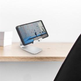 TABLETOP Smartphone Tablet Stand Holder Aluminium Adjustable Bracket - L3 - Silver - 7