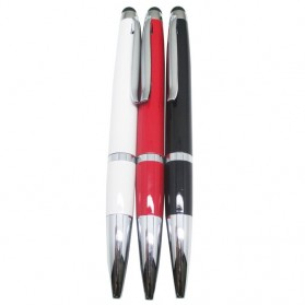 High Sensitivity Stylus Capacitive Touch with Pen for Smartphone and Tablet PC - STP-08C - Black
