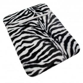 Taff Sleeve Case Generic Zebra Texture for iPad - NC290 - Black