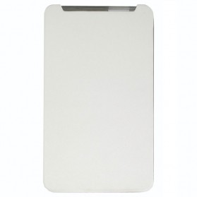 Taff Leather Case Flip Cover Asus Fonepad 7 (FE170CG) - White