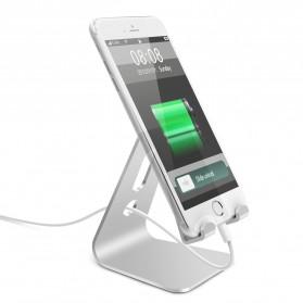 Seenda Smartphone Tablet Stand Holder Aluminium - XC-SJZJ004 - Silver - 2