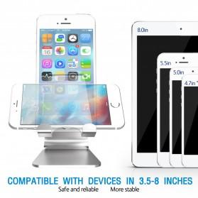 Seenda Smartphone Tablet Stand Holder Aluminium - XC-SJZJ004 - Silver - 3