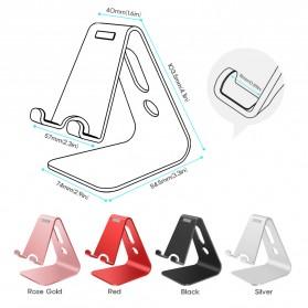 Seenda Smartphone Tablet Stand Holder Aluminium - XC-SJZJ004 - Silver - 7