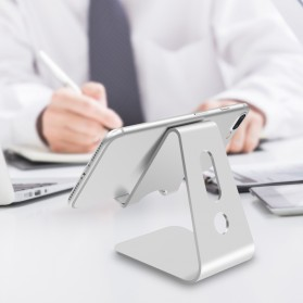 Seenda Smartphone Tablet Stand Holder Aluminium - XC-SJZJ004 - Silver - 8