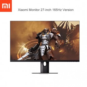Xiaomi Gaming Monitor 1440P 165Hz HDR AMD Free-Sync 27 Inch - XMMNT27HQ - Black - 1