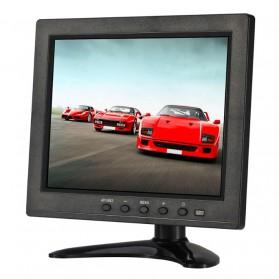 ESCAM T08 LCD Monitor CCTV 8 Inch - Black - 2