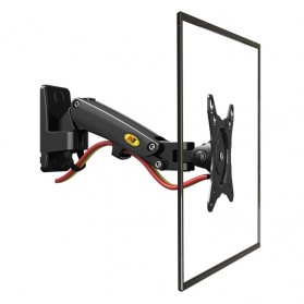 North Bayou Universal Monitor Arm Wall Mount Bracket Vesa Mount 17-27 Inch - NB-F120 - Black