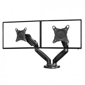 Universal Dual Monitor Arm Bracket Vesa Mount 17-30 Inch - NB-F160 - Black - 2