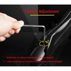 Universal Dual Monitor Arm Bracket Vesa Mount 17-30 Inch - NB-F160 - Black - 10