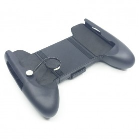 Smartphone Gamepad Hand Grip Holder with Joystick - M6 - Black - 2