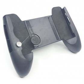 Smartphone Gamepad Hand Grip Holder with Joystick - M6 - Black - 6