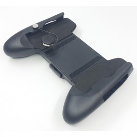 Smartphone Gamepad Hand Grip Holder with Joystick - M6 - Black - 7