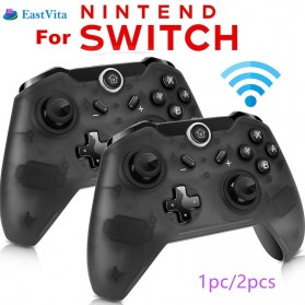Bluetooth Gamepad Gyro Axis Joystick for Nintendo Switch - r25 - Black - 7