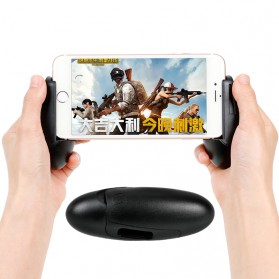 Gamepad Hand Grip Holder for Smartphone Egg Design - SYRINX - Black