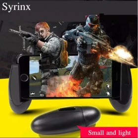 Gamepad Hand Grip Mobile Game Handle Egg Design - SYRINX - Black - 3