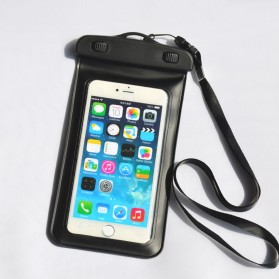 Oppselve Universal Smartphone Waterproof Bag Case 5.5 Inch - ABS180-105 - Black - 2