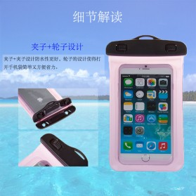 Oppselve Universal Smartphone Waterproof Bag Case 5.5 Inch - ABS180-105 - Black - 5