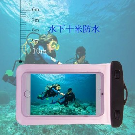 Oppselve Universal Smartphone Waterproof Bag Case 5.5 Inch - ABS180-105 - Black - 6