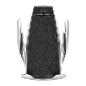 DigRepair Car Holder + Wirelesss Charger Smartphone Smart Sensor - S5 - Black - 3