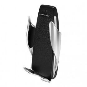 DigRepair Car Holder + Wirelesss Charger Smartphone Smart Sensor - S5 - Black - 9