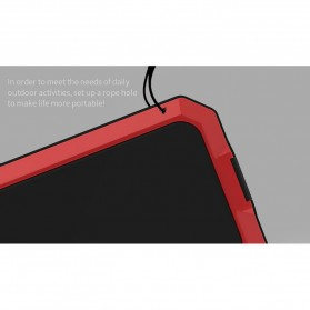 R-JUST Full Protective Heavy Duty Armor Case Metal Aluminium for iPhone 7/8 - Black - 9