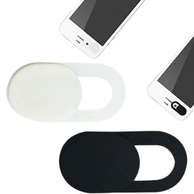 Webcam Komputer - Etmakit Cover Slider Kamera Webcam Privacy - PJ1695 - Black