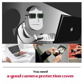 Etmakit Cover Slider Kamera Webcam Privacy - PJ1695 - Black - 2