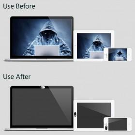 Etmakit Cover Slider Kamera Webcam Privacy - PJ1695 - Black - 9