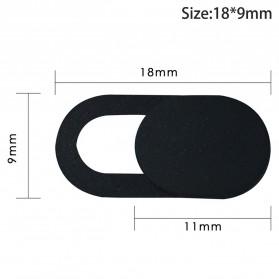 Etmakit Cover Slider Kamera Webcam Privacy - PJ1695 - Black - 10
