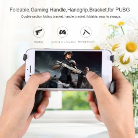 ALLOYSEED 5 in 1 Gamepad Grip Trigger Aim L1 R1 PUBG Fortnite - D9 - Black - 2