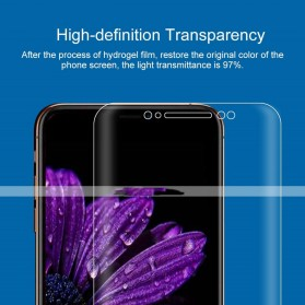 ANWAKER Hydrogel TPU Screen Protector Pelindung Layar Smartphone for iPhone XS Max - HD10 - 3