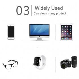 LOVINGFANG Kain Microfiber Lap Pembersih Lensa Kacamata 150 x 175mm 5 PCS - LV11 - Multi-Color - 5