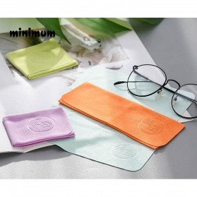 MINIMUM Kain Microfiber Lap Pembersih Lensa Kacamata Serbaguna 10 PCS - TP10 - Mix Color