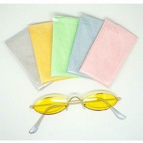 MINIMUM Kain Microfiber Lap Pembersih Lensa Kacamata Serbaguna 10 PCS - TP10 - Mix Color - 5