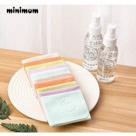 MINIMUM Kain Microfiber Lap Pembersih Lensa Kacamata Serbaguna 10 PCS - TP10 - Mix Color - 9