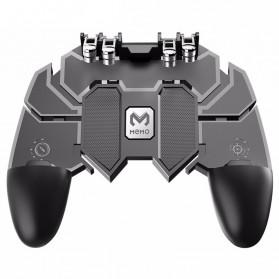 ViGRAND Gamepad Controller Grip Six Fingers Trigger Aim PUBG Fortnite - AK66 - Black - 2