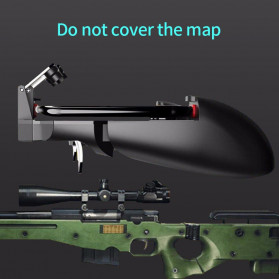 ViGRAND Gamepad Controller Grip Six Fingers Trigger Aim PUBG Fortnite - AK66 - Black - 6