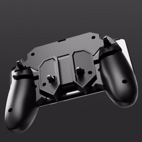 ViGRAND Gamepad Controller Grip Six Fingers Trigger Aim PUBG Fortnite - AK66 - Black - 7