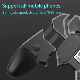 ViGRAND Gamepad Controller Grip Six Fingers Trigger Aim PUBG Fortnite - AK66 - Black - 9
