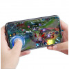 Wireless Gamepad / Joystick - TOFOCO Round Joystick Analog Smartphone 360 Derajat Mobile Legends - Q8 - White