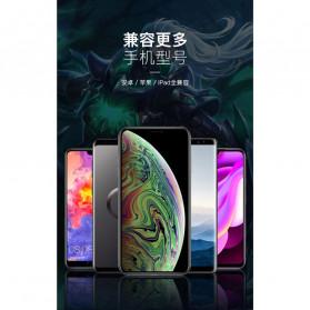 TOFOCO Round Joystick Analog Smartphone 360 Derajat Mobile Legends - Q8 - White - 9