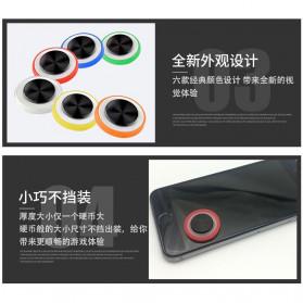 TOFOCO Round Joystick Analog Smartphone 360 Derajat Mobile Legends - Q8 - White - 6